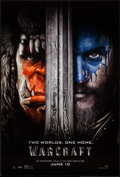 """Movie Posters:Fantasy, Warcraft (Universal, 2016). One Sheet (27"""" X 40"""") DS Advance.Fantasy.. ..."""
