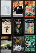"""Movie Posters:James Bond, Roger Moore as James Bond 007 by Roger Moore (Pan Books, 1973). Autographed Paperback Book (189 Pages, 4.5"""" X 7"""") & Paperbac... (Total: 9 Items)"""