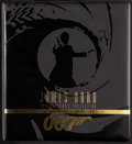 "Movie Posters:James Bond, James Bond Connoisseur's Collection (Inkworks, 1996). PremiumTrading Cards Complete Set with Binder (10.5"" X 11.5"" X 2.5"")...."
