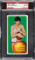 Basketball Cards:Singles (1970-1979), 1970 Topps Pete Maravich #123 PSA Mint 9....