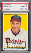 Baseball Cards:Singles (1950-1959), 1952 Topps Bob Feller #88 PSA NM-MT 8....