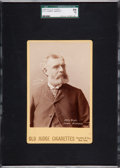 Baseball Cards:Singles (Pre-1930), 1888-89 N173 Old Judge Cabinet Harry Wright SGC 84 NM 7....
