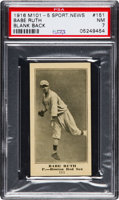 Featured item image of 1916 M101-5 Blank Back Sporting News Babe Ruth Rookie #151 PSA NM 7....