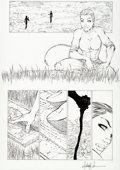 Original Comic Art:Panel Pages, Michael Turner Tomb Raider:The Series #25 Page 5Original Art (No Image, 2002)....
