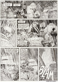John Romita Jr. and Al Williamson Daredevil: The Man Without Fear #1 Story Page 27 Original Art (Marvel, 1993)
