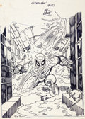 Original Comic Art:Miscellaneous, Gil Kane Amazing Spider-Man #151 Cover Preliminary ArtworkOriginal Art (Marvel, 1975). ...