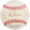 Autographs:Baseballs, 1977 Milwaukee Brewers Team Signed Baseball. ...