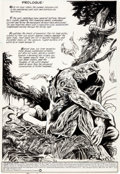 Original Comic Art:Splash Pages, Stephen Bissette and John Totleben Saga of the Swamp Thing #35 Splash Page 1 Original Art (DC, 1985)....