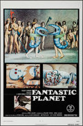 "Movie Posters:Animation, Fantastic Planet (New World, 1973). One Sheet (27"" X 41"") FlatFolded. Animation.. ..."