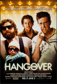 "The Hangover (Warner Brothers, 2009). One Sheet (27"" X 40"") DS Advance. Comedy"