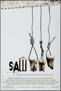 """Saw III & Others Lot (Lions Gate, 2006). One Sheets (5) (27"""" X 40"""") DS Advance Styles. Horror. ... (Total:..."""