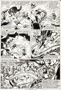 Original Comic Art:Panel Pages, Steve Leialoha and Al Milgrom Spider-Woman #34 Story Page 18Original Art (Marvel, 1981)....