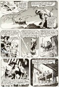 Original Comic Art:Panel Pages, Bernie Wrightson Swamp Thing #5 Story Page 3 Original Art(DC, 1973)....