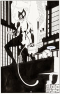 Original Comic Art:Splash Pages, Tim Sale Batman: The Long Halloween #9 Splash Page 12Original Art (DC, 1997)....