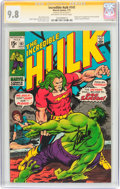 Bronze Age (1970-1979):Superhero, The Incredible Hulk #141 Signature Series (Marvel, 1971) CGC NM/MT 9.8 Off-white to white pages....