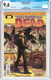 Walking Dead #1 (Image, 2003) CGC NM+ 9.6 White pages