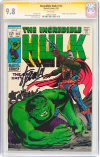 The Incredible Hulk #112 Signature Series (Marvel, 1969) CGC NM/MT 9.8 White pages