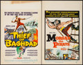 """Movie Posters:Fantasy, Thief of Baghdad & Other Lot (MGM, 1961). Window Cards (2) (14""""X 22""""). Fantasy.. ... (Total: 2 Items)"""