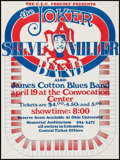 "Movie Posters:Rock and Roll, The Steve Miller Band at the Convocation Center (C.E.C., 1974).Concert Poster (16.5"" X 22""). Rock and Roll.. ..."