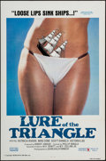 """Movie Posters:Adult, Lure of the Triangle & Other Lot (Gail Film, 1977). One Sheets (100) (27"""" X 41"""") Flat Folded. Adult.. ... (Total: 100 Items)"""