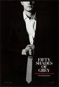 """Fifty Shades of Grey (Focus Features, 2015). One Sheets (4) (27"""" X 40"""") DS Advance 4 Styles. Drama. ... (Total..."""
