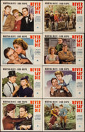 """Movie Posters:Comedy, Never Say Die (Paramount, 1939). Lobby Card Set of 8 (11"""" X 14"""").Comedy.. ... (Total: 8 Items)"""