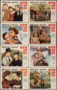 """Never Say Die (Paramount, 1939). Lobby Card Set of 8 (11"""" X 14""""). Comedy. ... (Total: 8 Items)"""