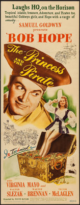 """The Princess and the Pirate (RKO, 1944). Insert (14"""" X 36""""), Title Lobby Card, Lobby Card (11"""" X 14""""..."""