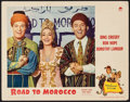 """Movie Posters:Comedy, Road to Morocco (Paramount, 1942). Lobby Card (11"""" X 14"""") & Sheet Music (6 Pages, . Comedy.. ... (Total: 2 Items)"""