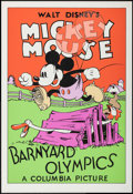 "Movie Posters:Animation, Barnyard Olympics (Circle Fine Art, R-1980s). Fine Art Serigraphs(5) (Identical) (21"" X 30.75""). Animation.. ... (Total: 5 Item)"