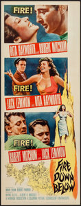 """Movie Posters:Adventure, Fire Down Below & Other Lot (Columbia, 1957). Insert (14"""" X36"""") & One Sheets (2) (27"""" X 41""""). Adventure.. ... (Total: 3Items)"""