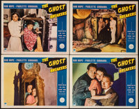 """The Ghost Breakers (Paramount, 1940). Lobby Cards (4) (11"""" X 14""""). Comedy. ... (Total: 4 Items)"""