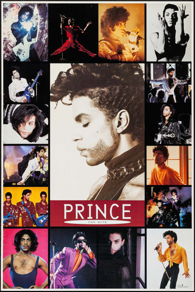 Prince: The Hits (Paisley Park Records, 1993)  Album Poster