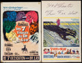 """Movie Posters:Fantasy, The 7 Faces of Dr. Lao (MGM, 1964). Window Card (14"""" X 22"""") & Belgian (14.25"""" X 21.5""""). Fantasy.. ... (Total: 2 Items)"""