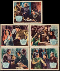 """Movie Posters:Adventure, If I Were King (Paramount, 1938). Other Company Lobby Cards (5)(11"""" X 14""""). Adventure.. ... (Total: 5 Items)"""