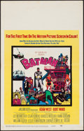 "Movie Posters:Action, Batman (20th Century Fox, 1966). Window Card (14"" X 22""). Action....."