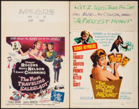 "The First Traveling Saleslady & Other Lot (RKO, 1956). Window Cards (2) (14"" X 22""). Comedy. ... (Tota..."