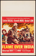 """Movie Posters:Adventure, Flame Over India & Others Lot (20th Century Fox, 1960). WindowCards (3) (14"""" X 22""""). Adventure.. ... (Total: 3 Items)"""
