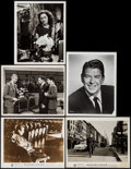 """Movie Posters:Documentary, The James Dean Story & Others Lot (Warner Brothers, 1957). Photos (5) & Color Photo Set of 12 (8"""" X 10""""). Documentary.. ... (Total: 17 Items)"""