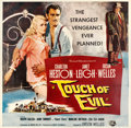 "Movie Posters:Film Noir, Touch of Evil (Universal International, 1958). Six Sheet (78.5"" X80.5"").. ..."