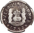 Mexico, Mexico: Philip V Real 1732 Mo-F VG Details (Saltwater Damage,Cleaned) NGC,...