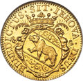 Switzerland: Bern. City gold Ducat 1697 MS64 NGC