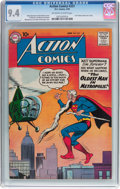 Silver Age (1956-1969):Superhero, Action Comics #251 (DC, 1959) CGC NM 9.4 Off-white to white pages....