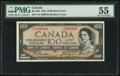 Canadian Currency: , BC-35b $100 1954 Devil's Face . ...