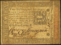 Colonial Notes:Pennsylvania, Pennsylvania October 1, 1773 2s 6d Extremely Fine.. ...