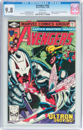 Modern Age (1980-Present):Superhero, The Avengers #202 (Marvel, 1980) CGC NM/MT 9.8 White pages....