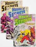 Silver Age (1956-1969):Horror, House of Secrets Group of 29 (DC, 1958-66) Condition: AverageVG/FN.... (Total: 29 Comic Books)