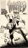 Original Comic Art:Covers, Bernie Wrightson Twisted Tales #2 Cover Original Art(Pacific Comics, 1983)....