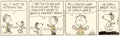"Original Comic Art:Comic Strip Art, Charles Schulz Peanuts Daily ""Veteran's Day"" Comic Strip Original Art dated 11-11-92 (United Feature Syndicate, 19..."