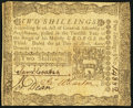 Colonial Notes:Pennsylvania, Pennsylvania April 3, 1772 2s Very Fine-Extremely Fine.. ...